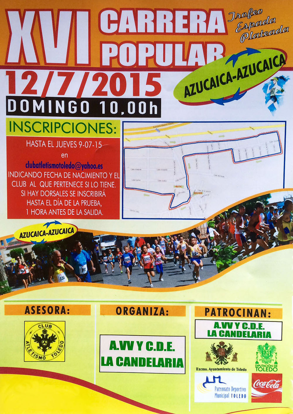 XVI Carrera Popular de Azucaica
