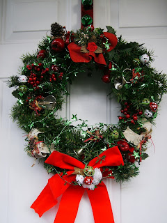 Christmas Wreath Refab