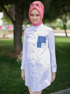 Baju muslim modis model terbaru