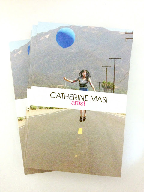 catherine masi - artist / designer - business card