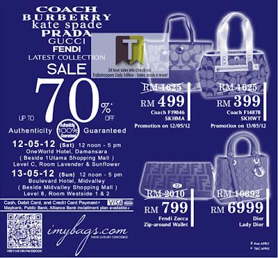 Branded Bags Sale 2012