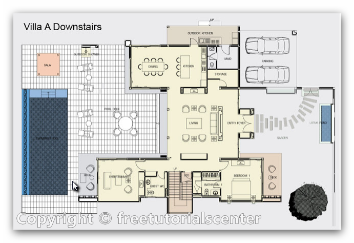 Apartment Plans In Dwg