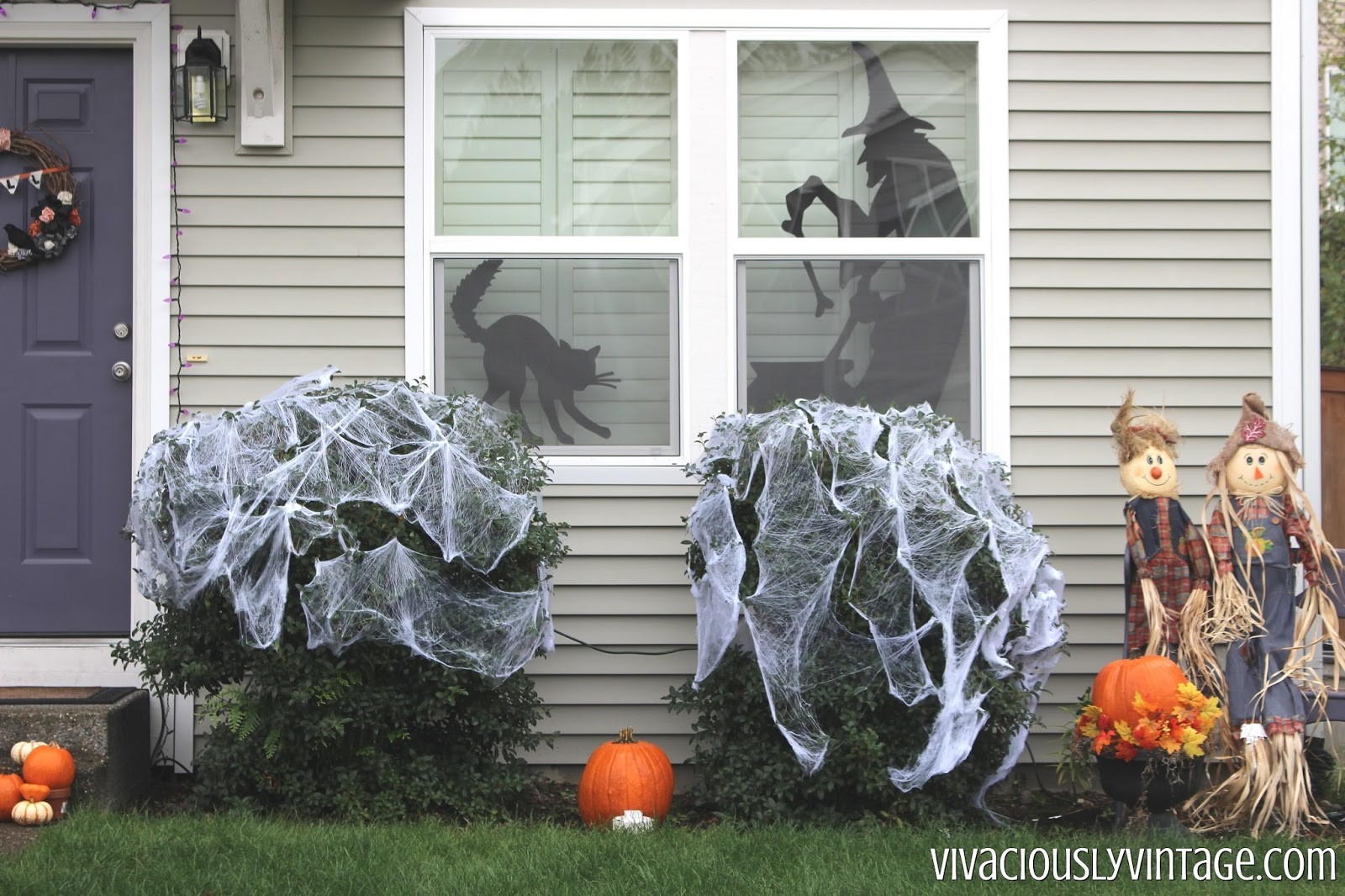 Ansley Designs: DIY Creepy Halloween Silhouettes with Templates!