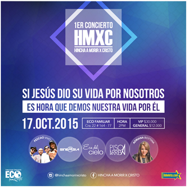 Primer-Concierto-Hincha-a-Morir-X-Cristo-HMXC-Sábado-17-Octubre