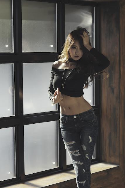 3 Park Hyun Sun - Two Studio Sets - very cute asian girl-girlcute4u.blogspot.com