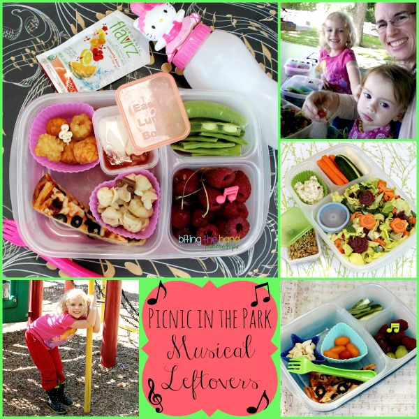 Some simple leftovers for a park picnic!