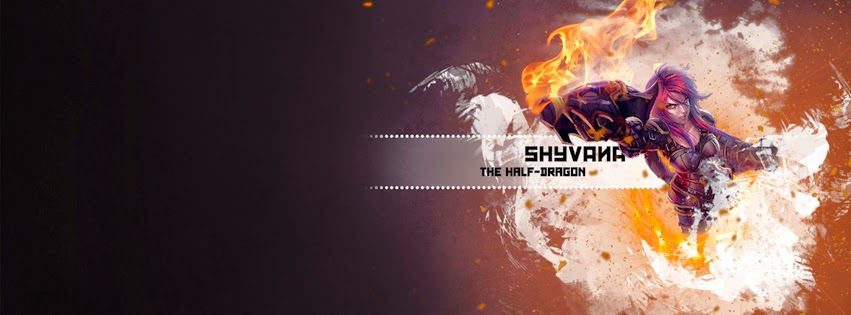 Shyvana League of Legends Facebook Cover PHotos