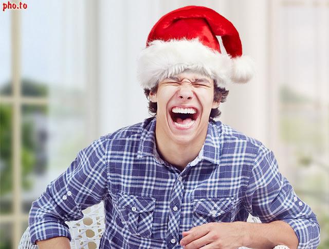 virtual Santa hat editor