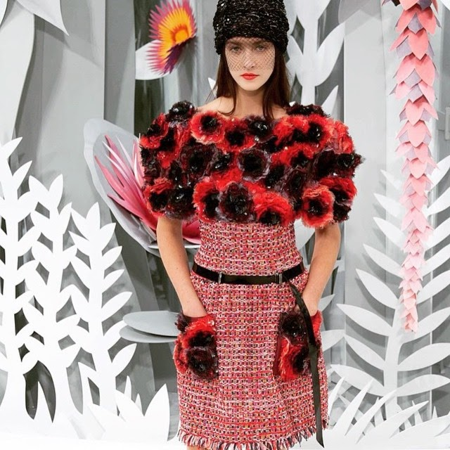 Style Pipi Fashion From Heaven Chanel Spring Summer 2015 Haute Couture Show