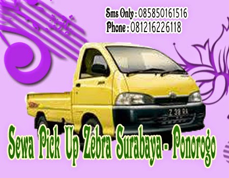Sewa Pick Up Zebra Surabaya - Ponorogo