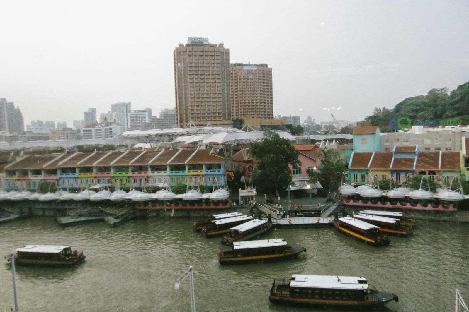clarke quay central view