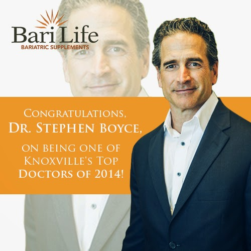 Knoxville Medical Community has recognized Dr. Stephen Boyce as one of the Top Doctors of 2014