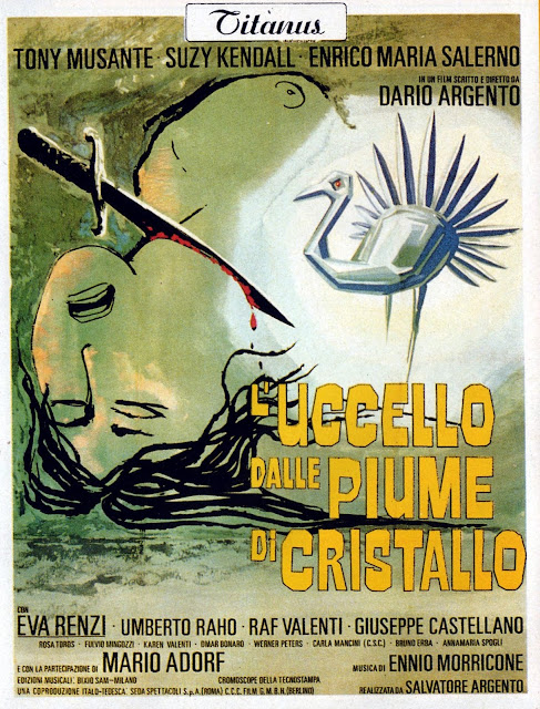 The Bird with the Crystal Plumage • L'uccello dalle piume di cristallo (1970)