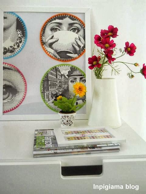 In pigiama decorare una parete in modo creativo e originale for Carta da parati ikea
