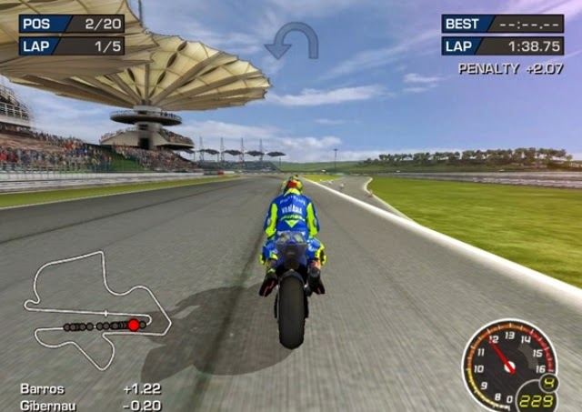 MotoGP 3 URT PC Games Gameplay
