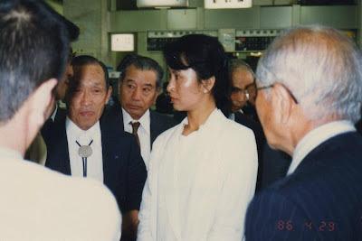 ဂ်ပန္ႏုိင္ငံေရာက္ ေဒၚေအာင္ဆန္းစုၾကည္/Aung San Suu Kyi-san in Japan