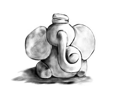 Fekete-fehér elefánt