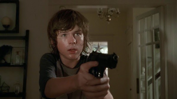Carl Grimes main weapon