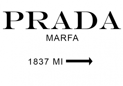 being lovely prada marfa. Black Bedroom Furniture Sets. Home Design Ideas