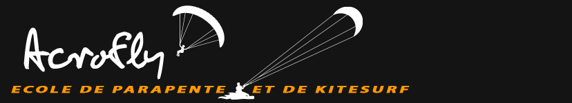 Ecole de parapente et de Kitesurf Acrofly