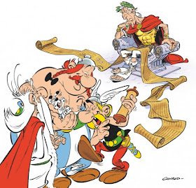 Asterix Hand Drawn /& Hand Painted Cel