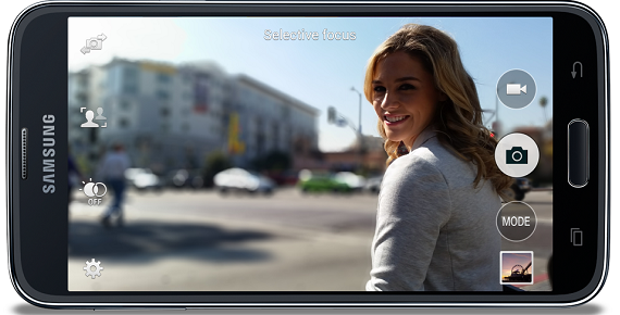 Kamera Samsung Galaxy S5