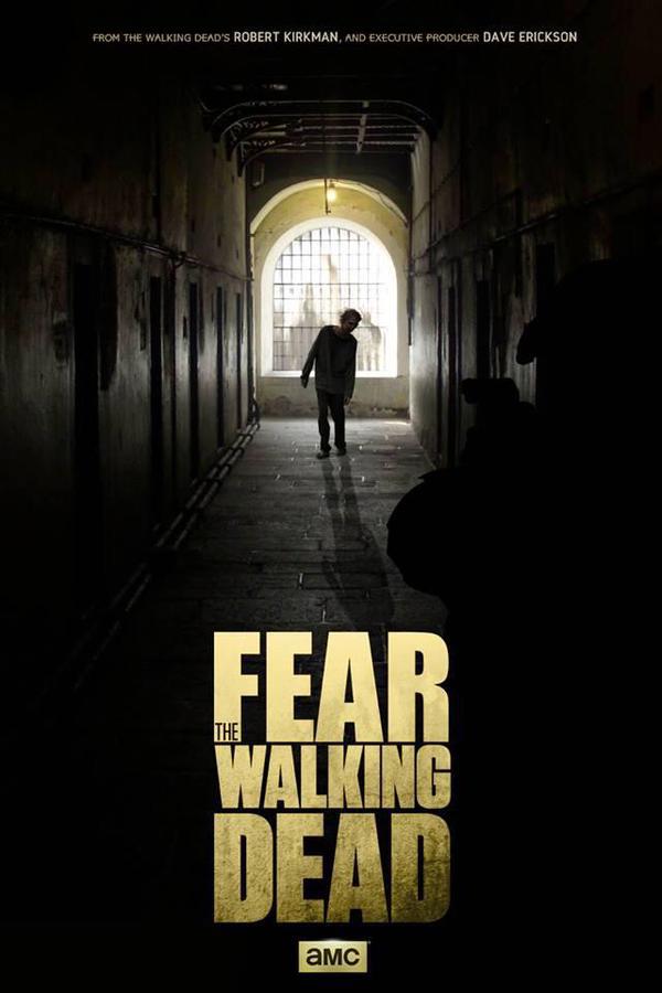 Primeiro poster de Fear the Walking Dead, spin-off de The Walking Dead