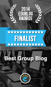 2014 EduBlog Awards Finalist