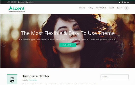 Ascent WordPress Theme
