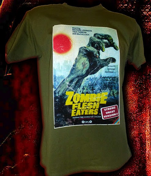 Cannibal & Zombie film shirts