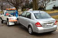 Flat-Tire-change-Wheel-lift-tow-Flatbed-Wrecker