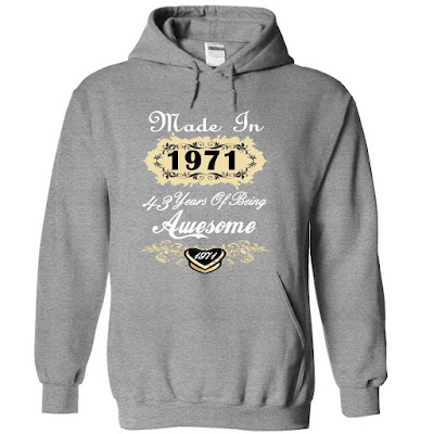 Awesome Made In 1971 Limited Edition Women Tee