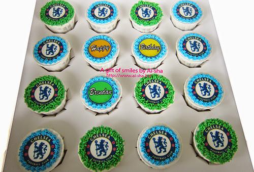 Birthday Cupcake Edible Image Chelsea