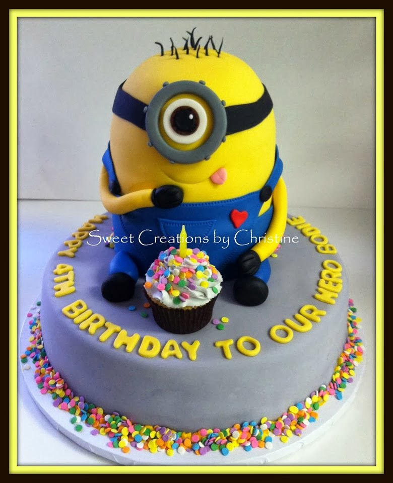 Hope For Baby Bennett Minions For Our Minion Part 1 The Cake