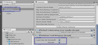 Konfigurasi ARCamera untuk me-load dataset
