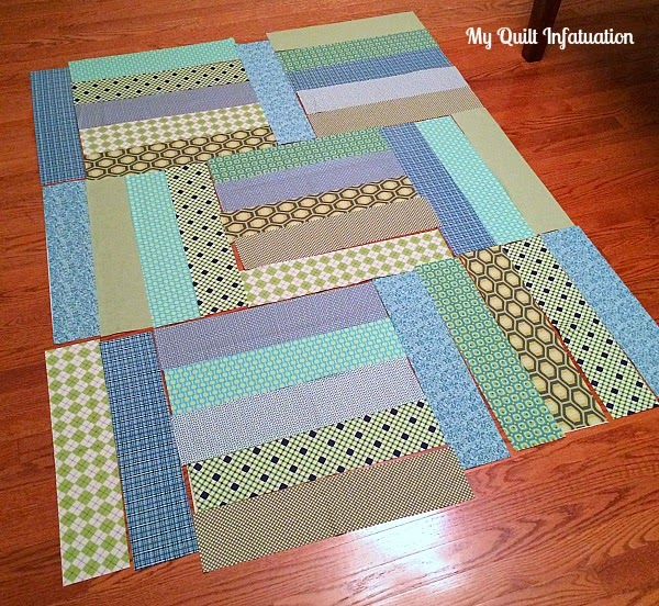 Quilt Patterns Using 6 Strips : Fort Worth Fabric Studio: Oh Sew Baby: Strip Tango Baby Quilt Tutorial