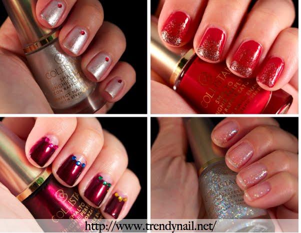 Collistar nail swatch colori per il natale e semplici - Colori per natale ...