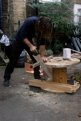 Adam johners johns Building making constructing DIY skateboard obstacles