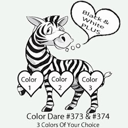 CLICK HERE for Color Dare Challenge #373 & #374 - CLOSES Sunday Dec 29th