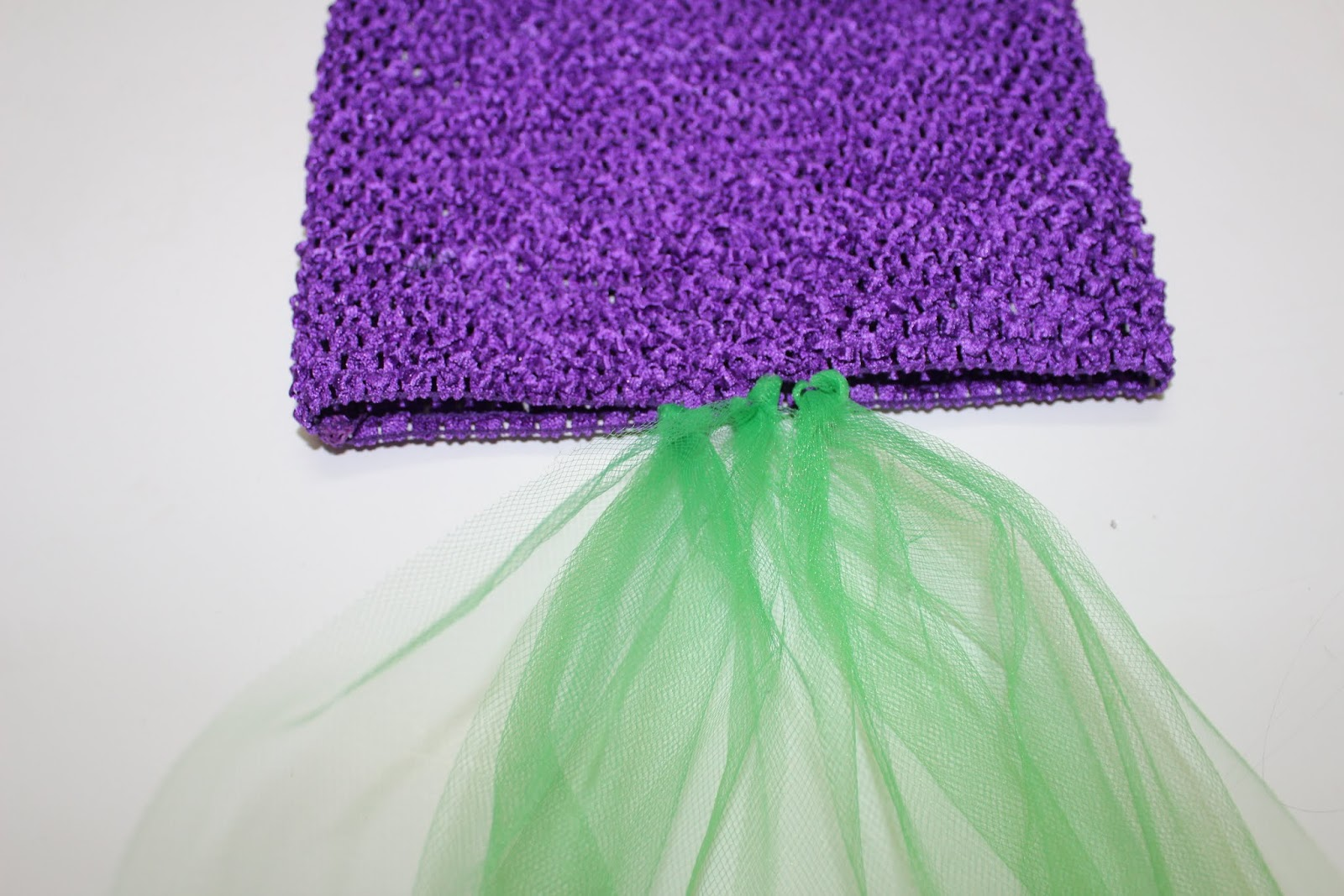 how to make a no sew costume mermaid tail