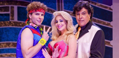 Video Danielle Winits e Thiago Fragoso caindo no musical Xanadu