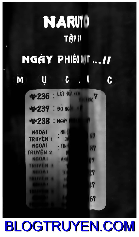 Naruto chap 236 Trang 1 - Mangak.info
