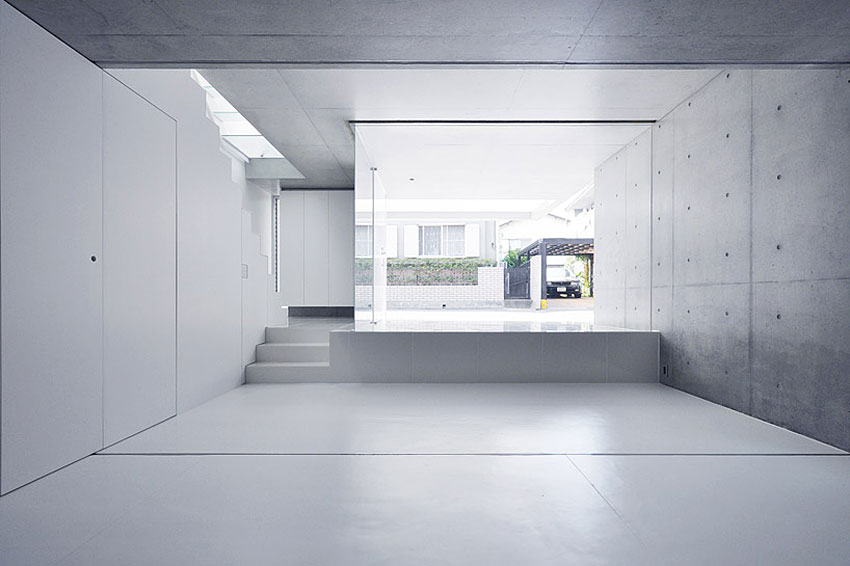 Japanese minimalism modern design by for Japanese minimalist interior design