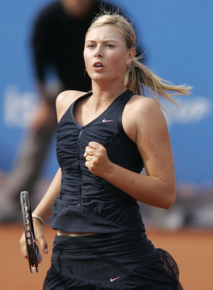 maria sharapova tennis 2009