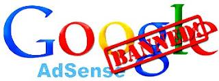 11 penyebab akun google adsense anda di banned