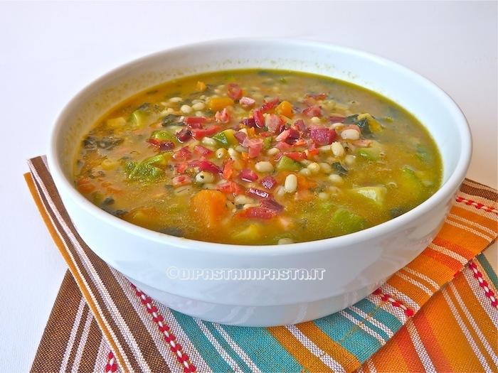 Zuppe o creme vellutate di verdure con cereali diversi for Barattoli di zuppa campbell s