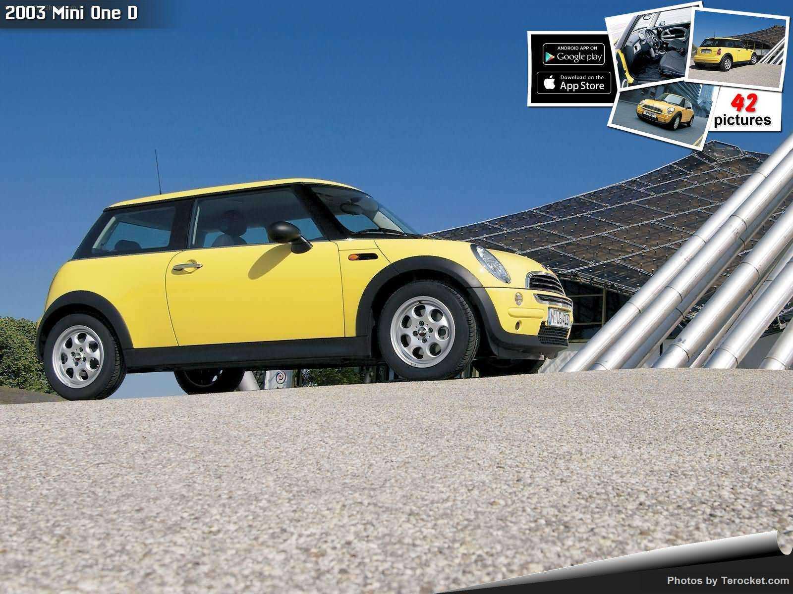 Hình ảnh xe ô tô Mini One D 2003 & nội ngoại thất