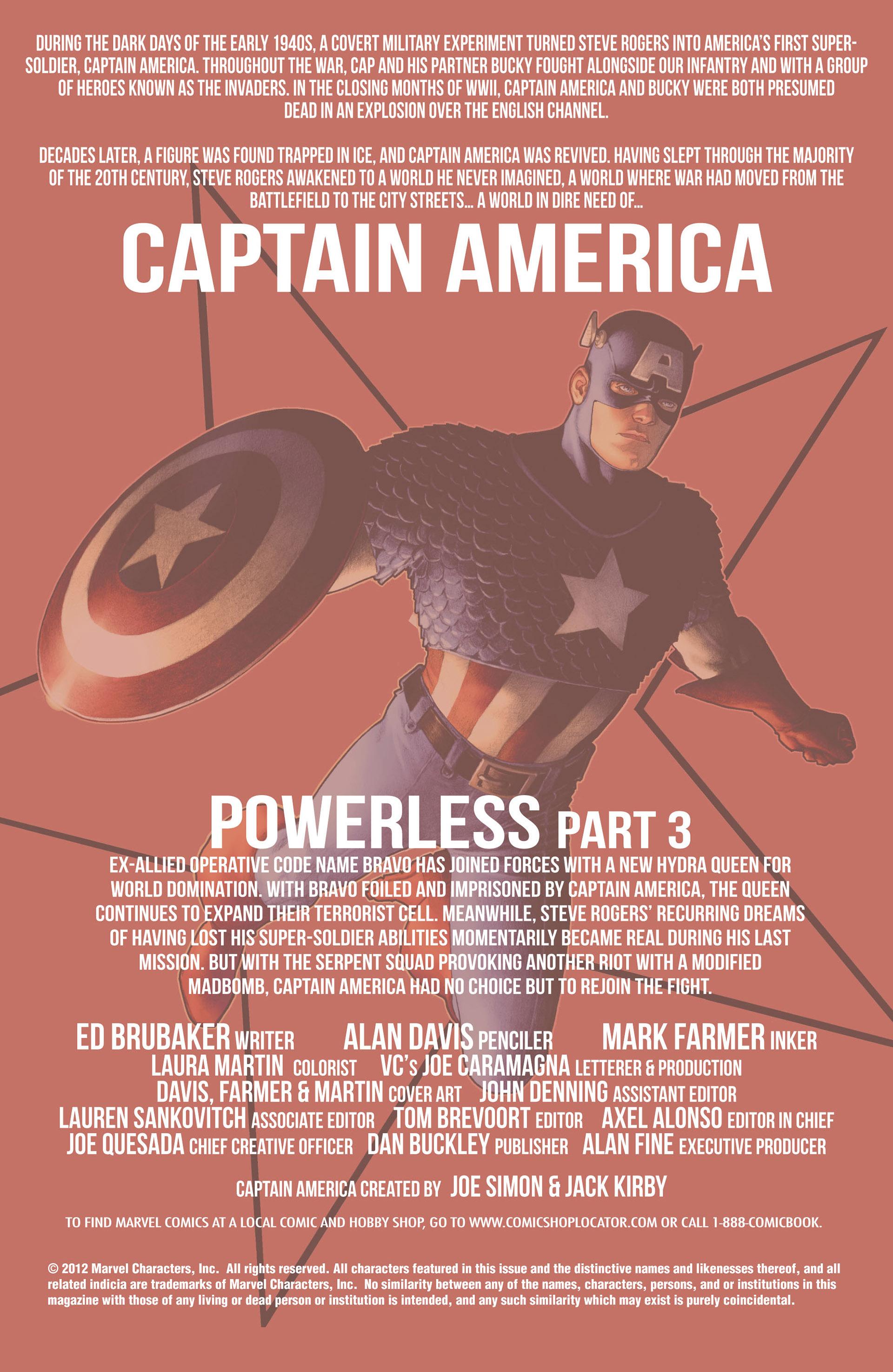 Captain America (2011) Issue #8 #8 - English 2