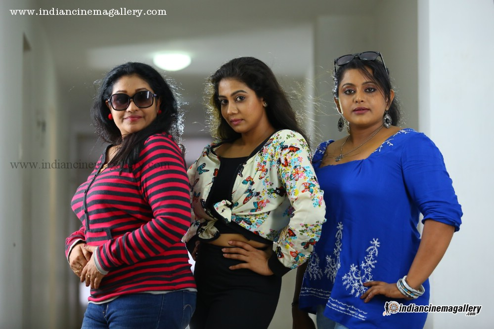 Rachana Narayanankutty Veena Nair and Thasni Khan latest hot photos from Thilothama