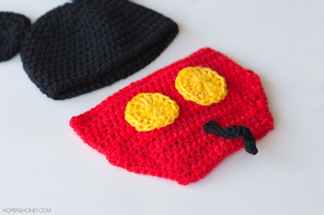 Free Crochet Patterns For Baby Mickey Mouse : Hopeful Honey Craft, Crochet, Create: Mickey Mouse ...